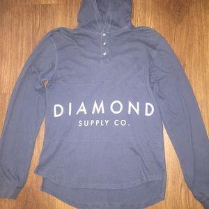 Diamond Supply Co Shirt Hoodie